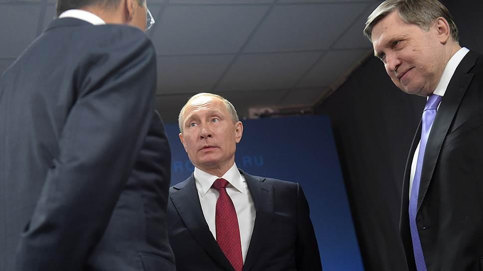 Владимир Путин в Архангельске похвалил и отругал США