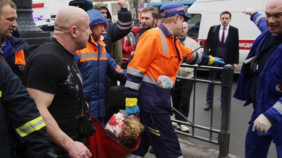 В результате взрыва как минимум 45 человек получили ранения различной степени тяжести