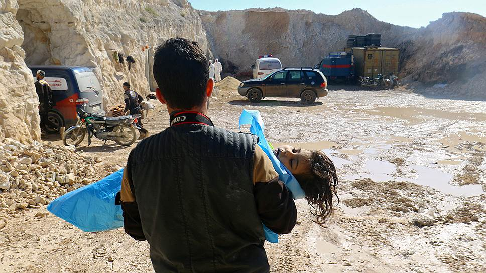 Как в Сирии произошла химическая атака