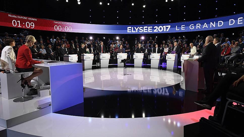 Как теледебаты всколыхнули французскую предвыборную гонку