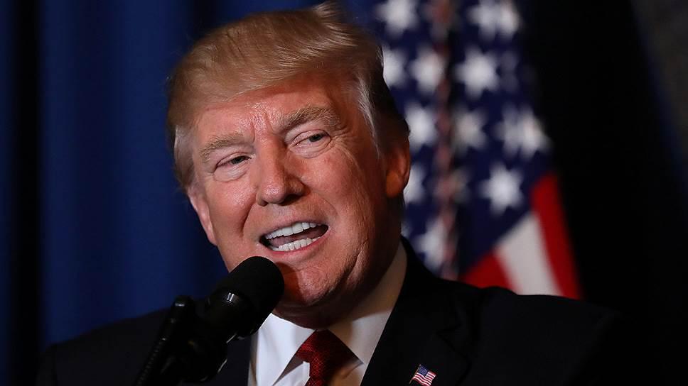 Как Дональд Трамп отдал приказ нанести удары по Сирии