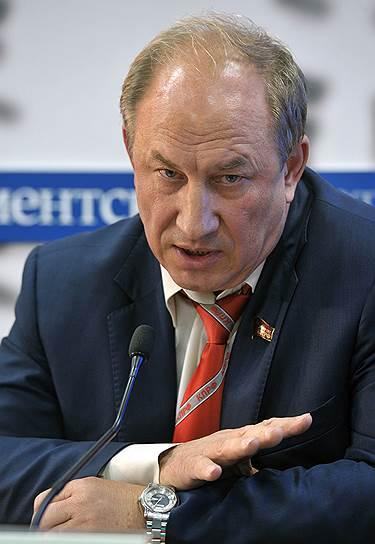 Депутат Госдумы зампред ЦК КПРФ Валерий Рашкин