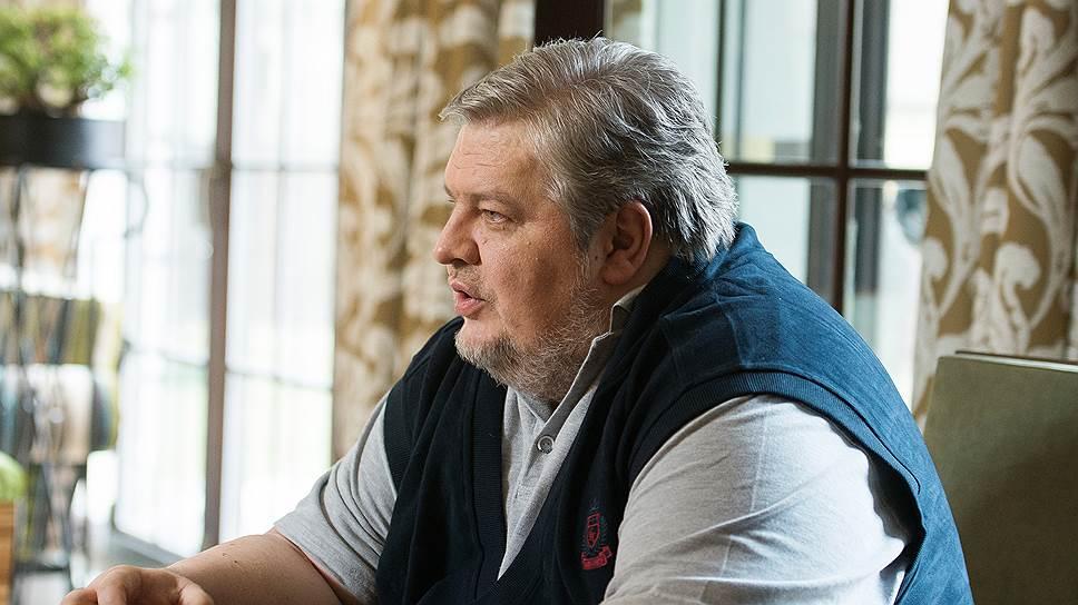 Руководитель фонда «Дар» Илья Елисеев