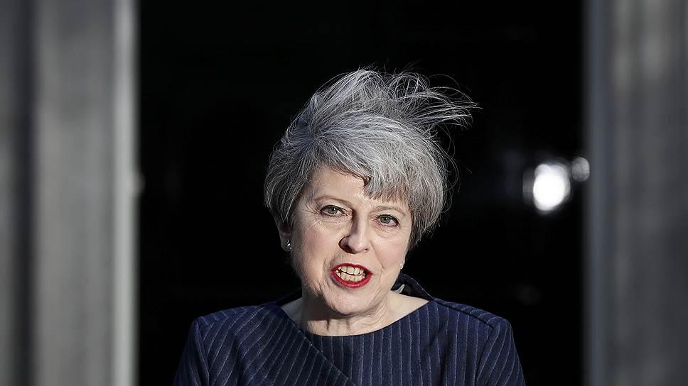 Как Тереза Мэй объявила о досрочных парламентских выборах