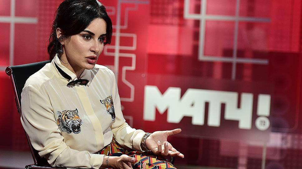 Генеральный продюсер «Матч ТВ» Тина Канделаки нашла некорректной критику рейтингов телеканала со стороны Sports.ru