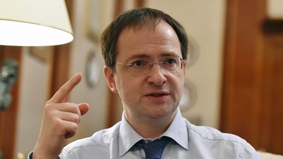 Министр культуры Владимир Мединский о господдержке кино