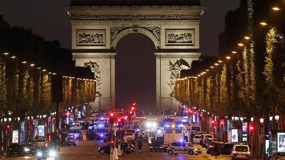 Что произошло в центре Парижа