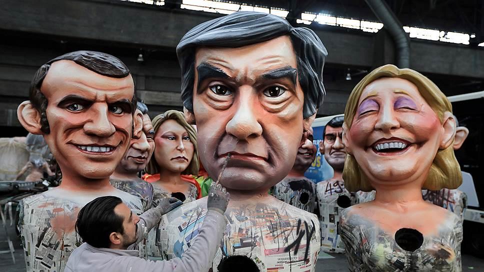 В ходе избирательной кампании во Франции ее фавориты нередко представали в образе карикатурных персонажей. Не все сумели из этого образа выйти