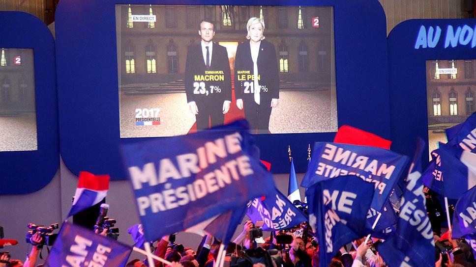 Зарубежные СМИ — о первом туре президентских выборов во Франции