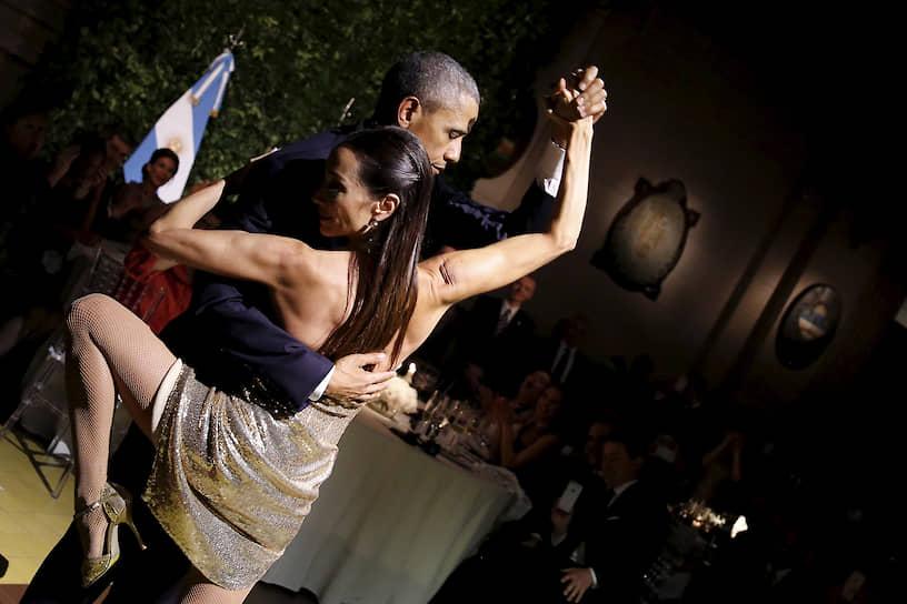 44-й президент США Барак Обама на государственном ужине