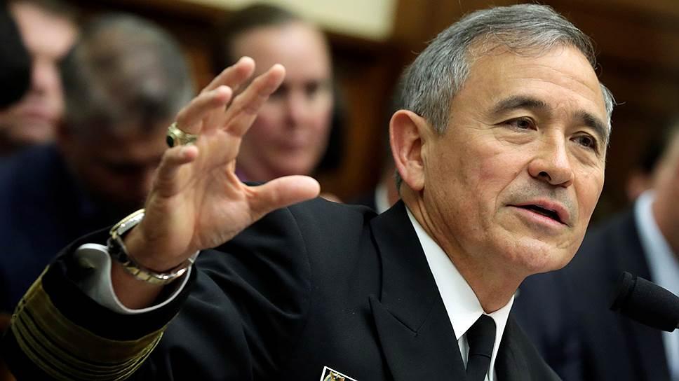 Глава Тихоокеанского командования вооруженных сил США адмирал Гарри Гаррис