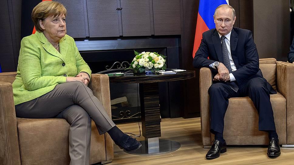 Какие заявления сделали Владимир Путин и Ангела Меркель
