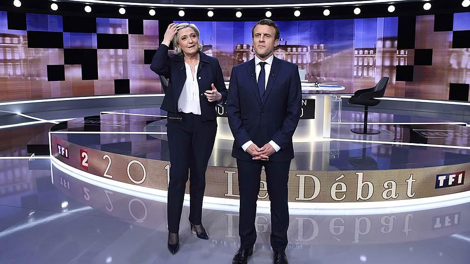 Как Эмманюэль Макрон победил в дебатах Марин Ле Пен