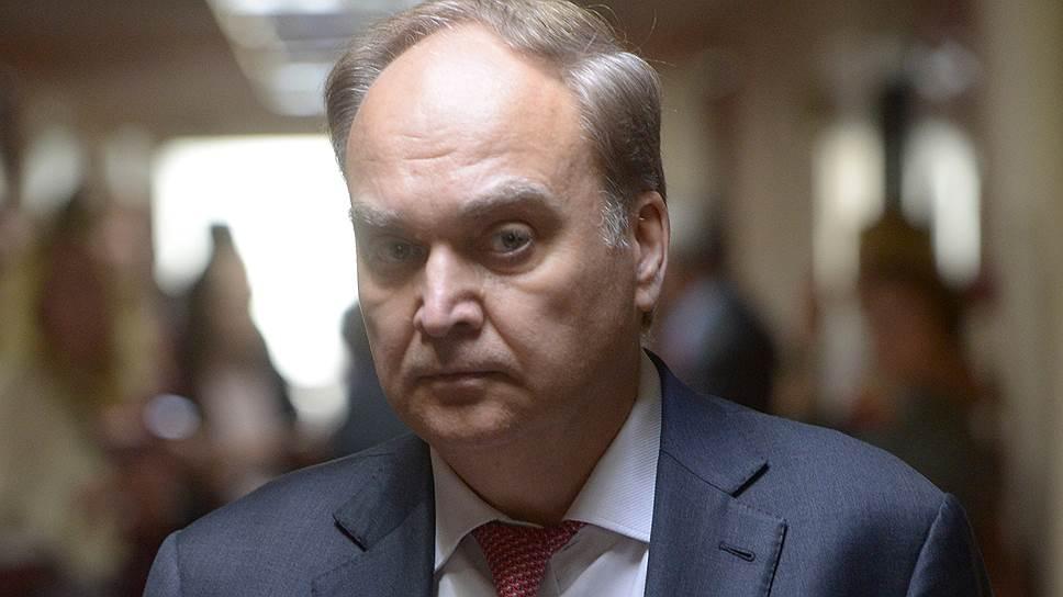 Замминистра иностранных дел России Анатолий Антонов