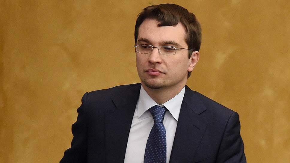 Заместитель министра юстиции России Михаил Гальперин