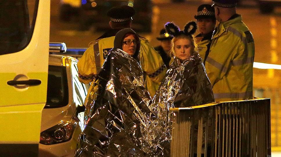 Как развивались события в ночь теракта на «Манчестер-Арене»