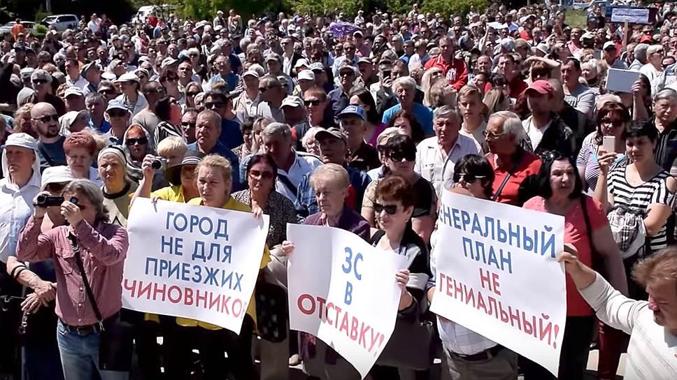 Почему генплан Севастополя вывел людей на улицы