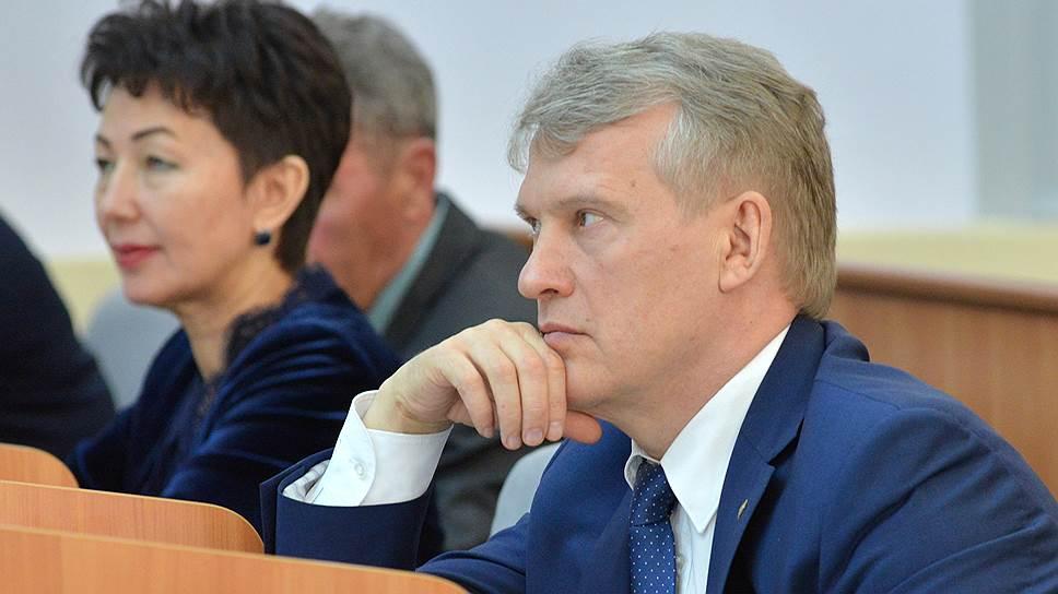 Бывший руководитель администрации главы республики Хакасии Владимир Бызов