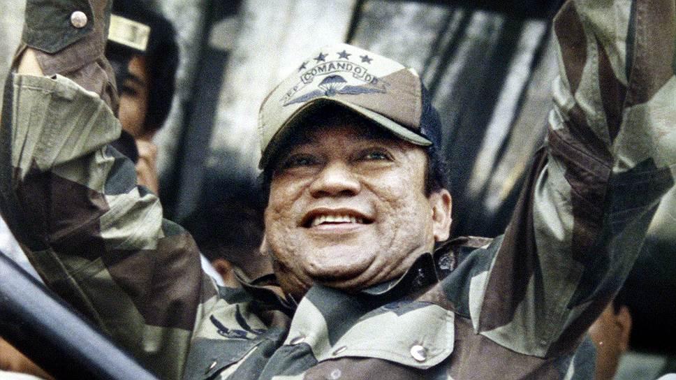 Бывший диктатор Панамы Мануэль Норьега