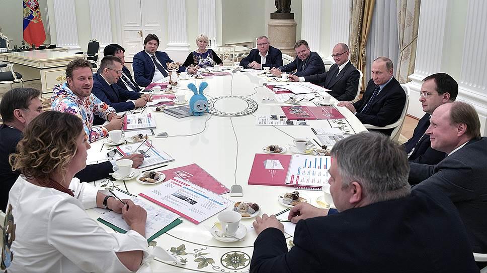 Как Владимир Путин встретился с мультипликаторами