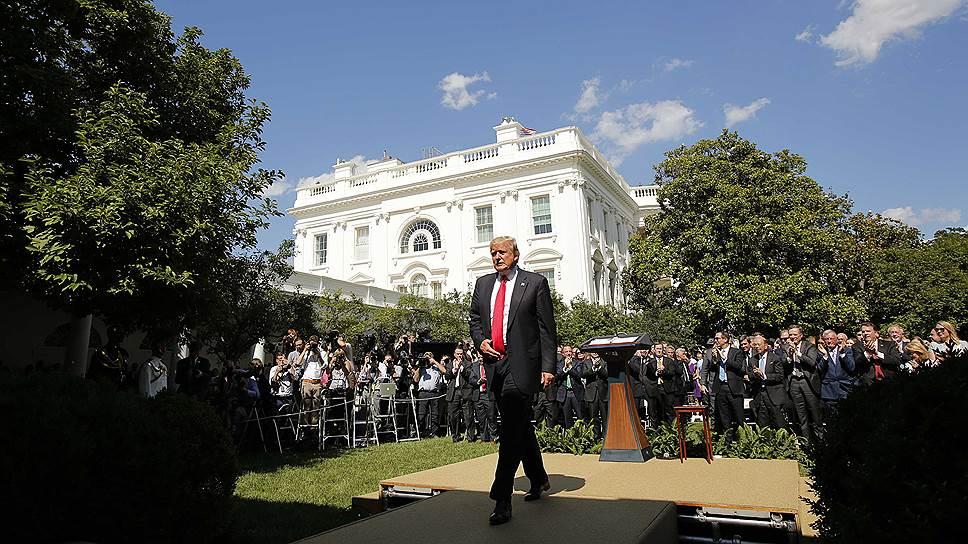 Как Дональд Трамп решил отменить ратификацию Парижского соглашения