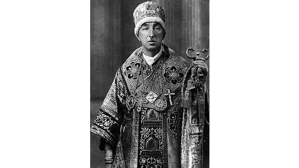 Александр Введенский, честолюбивый эстет и декадент, стал лицом и символом обновленчества