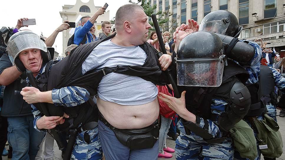 Оппозиционный митинг в Москве 12 июня 2017 года