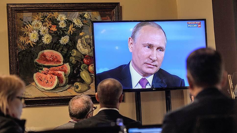 Основные тезисы прямой линии с Владимиром Путиным