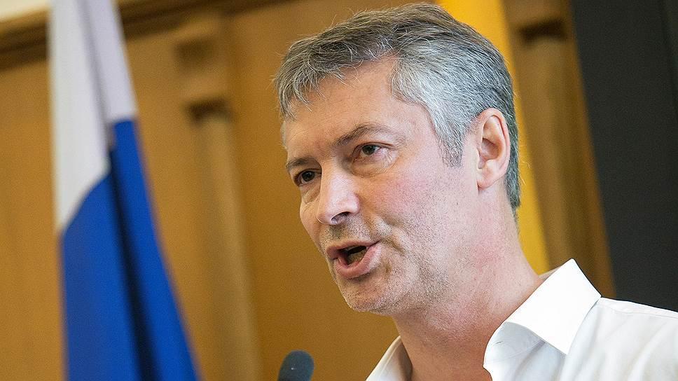 Как Евгений Ройзман выдвигается кандидатом в губернаторы Свердловской области
