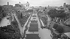 Проведение парадов, вопреки историческим анекдотам, вовсе не было главной целью реконструкции, но прямая и широкая Via dell'Impero, безусловно, для этого очень подходила