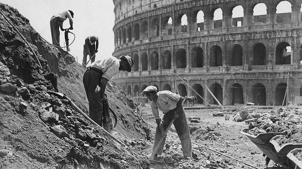 Как Муссолини перестраивал вечный город