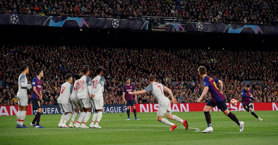 1 мая 2019 года Месси оформил дубль в полуфинале Лиги Чемпионов. Второй гол стал 600-м голом за «Барселону» во всех турнирах