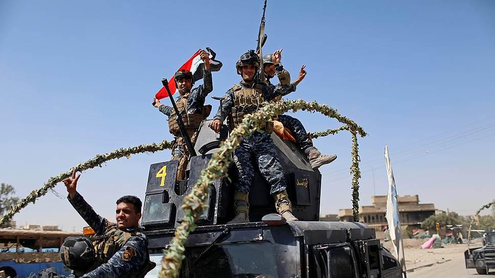 Как армия Ирака объявила об освобождении Мосула от террористов