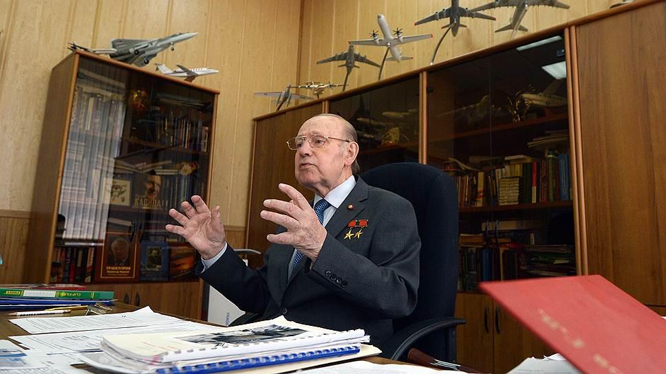 Интервью Генриха Новожилова о состоянии транспортной авиации