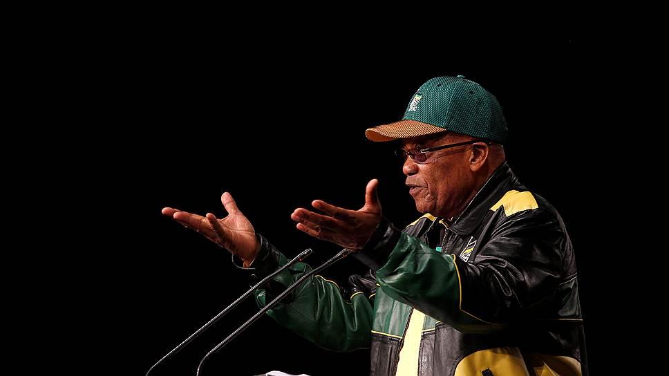 Президент ЮАР поддержал кандидатуру своей бывшей жены на пост лидера Африканского национального конгресса