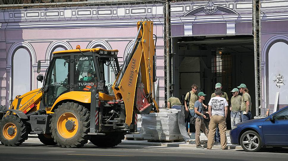 Как массовые ремонтные работы на московских центральных улицах напугали арендаторов