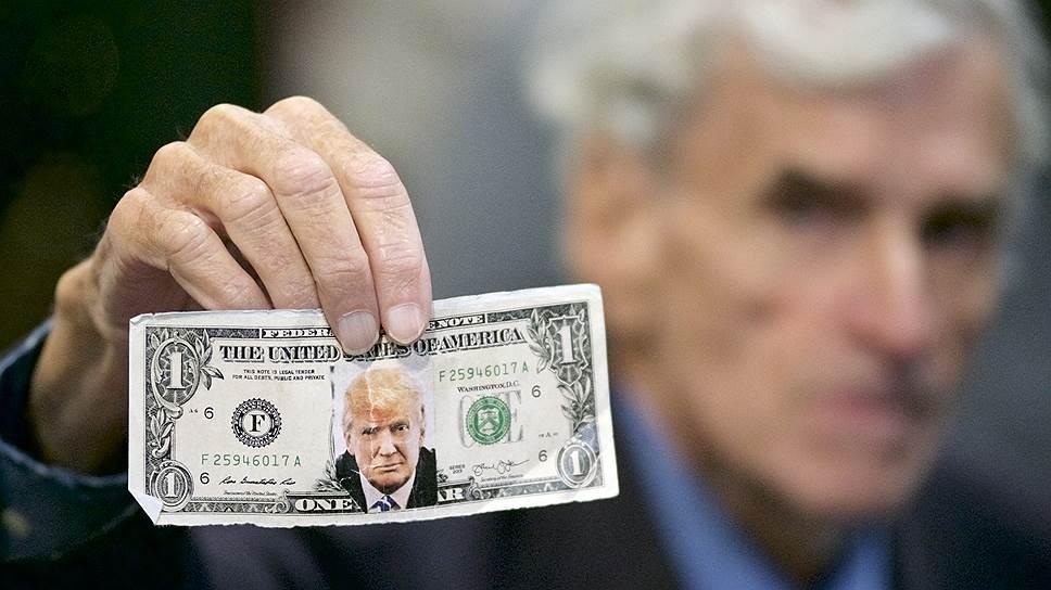 Поддерживающий Дональда Трампа политик Джерри Ламберт поддерживает также и доллар в сентябре 2016 года