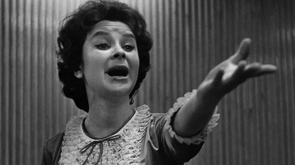 Певица Тамара Миансарова (1964 год)