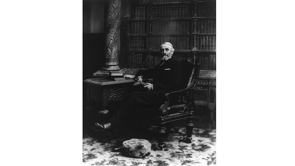 Директор библиотеки Конгресса США Эйнсуорт Рэнд Споффорд — первый исследователь истории американских лотерей
