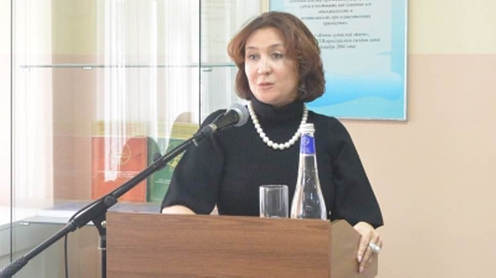 Судья Краснодарского краевого суда Елена Хахалева