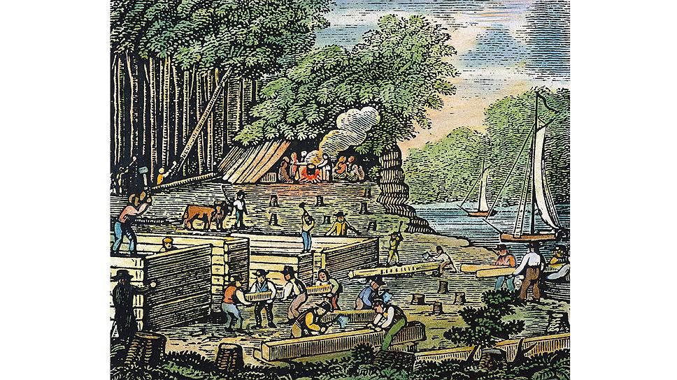 Доход первой «американской» лотереи, которую провели в Англии, пошел в пользу первопоселенцев