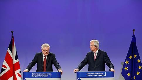 Британия готова расплатиться с ЕС по счетам // По другим проблемам «Брексита» Лондону и Брюсселю договориться не удалось
