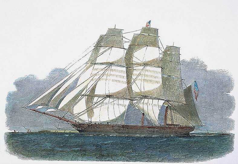 Британцы смотрели на все эти рекорды с ревнивой болью, которая еще усилилась, когда в конце 1850 года американский клипер «Ориентал» привез в Лондон большую партию чая из Китая