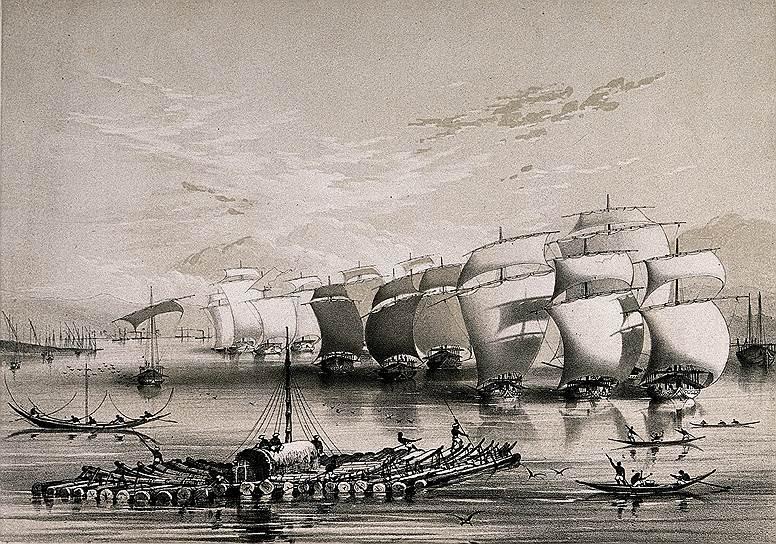 Клиперы широко использовали для контрабанды и легальной, но сомнительной торговли. Так, британцы приспособили их для поставки опиума в Китай