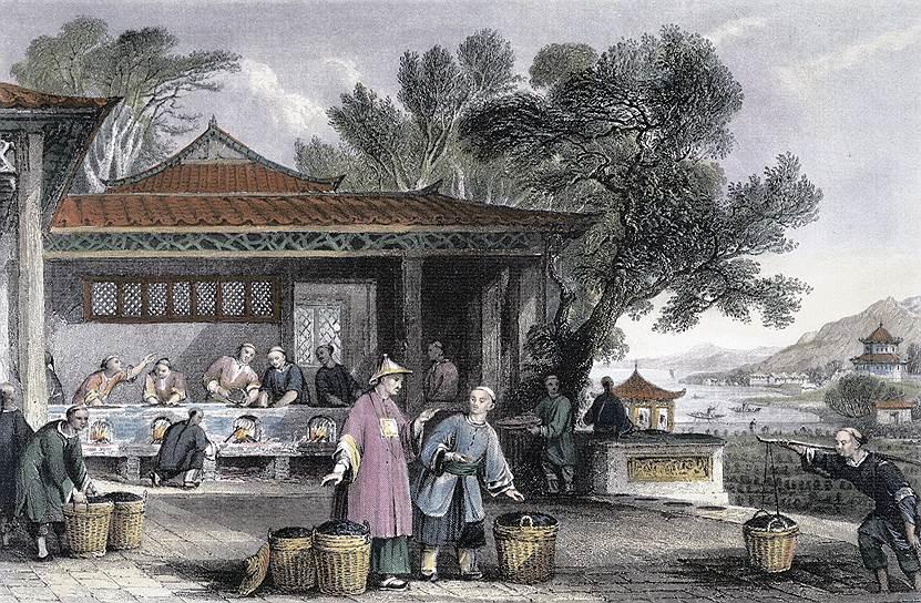 Китайцы называли этот чай красным по цвету готового напитка, британцы же назвали его черным по цвету того, что заваривали. Некоторая путаница сохранилась до сих пор