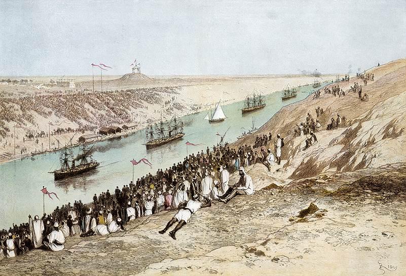 Второй удар оказался еще серьезнее, и он обеспечил практически мгновенную победу пароходам над клиперами. В конце 1869 года был открыт Суэцкий канал. Клиперы оказались плохо приспособлены к его прохождению. Теоретически это было возможно, но практически клиперы продолжали ходить в Британию вокруг Африки