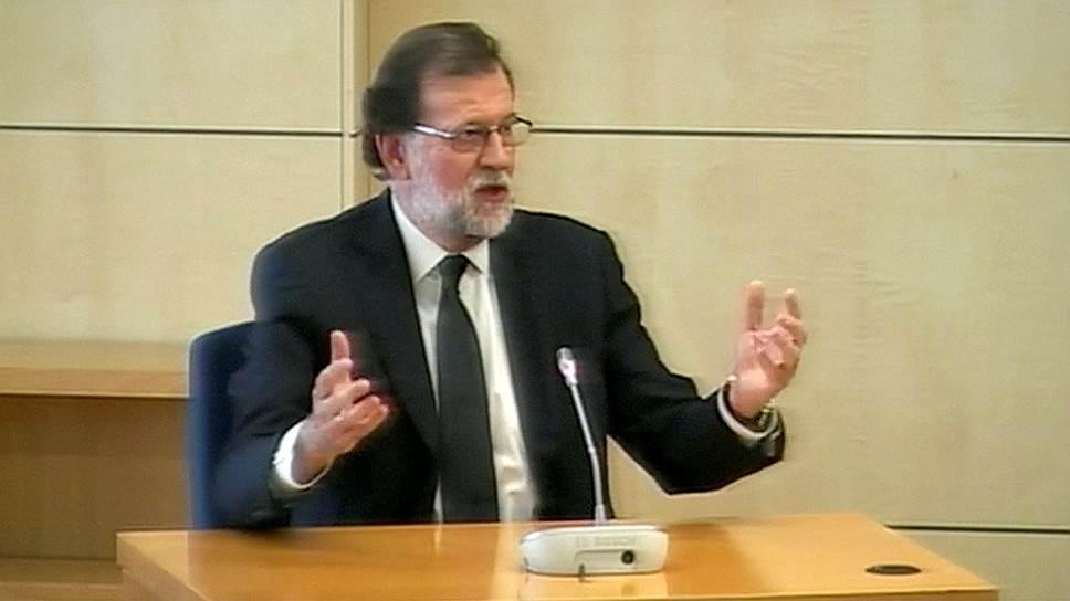 Премьер Испании Мариано Рахой