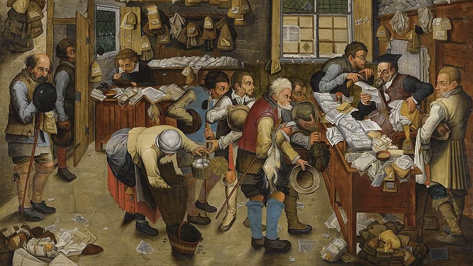 В XVII веке жители европейских стран уплачивали налоги в массовом порядке