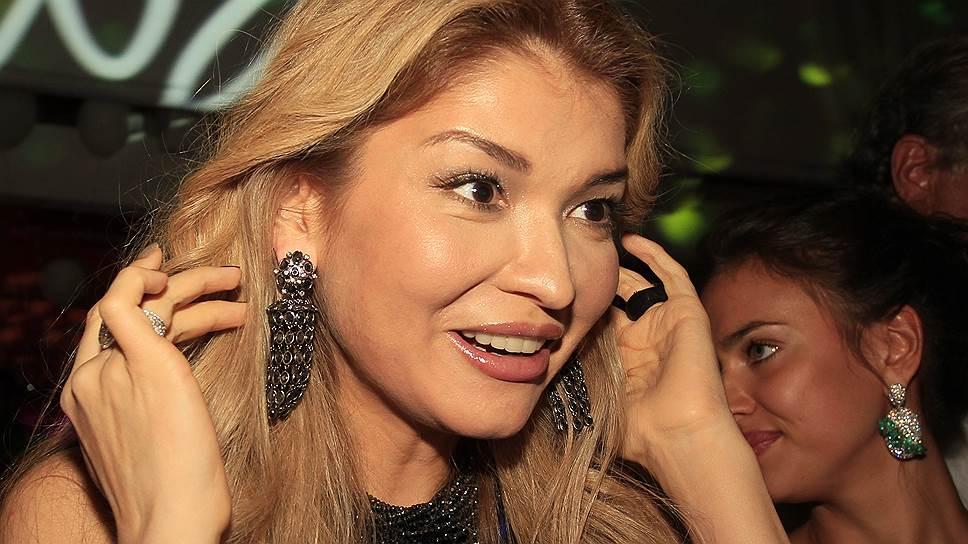 Дочь бывшего президента Узбекистана Гульнара Каримова