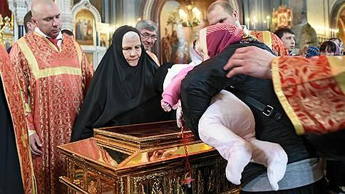 Святителя вернули домой // Мощи Николая Чудотворца покидают Россию